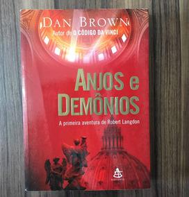 Livro Anjos E Demônios - Dan Brown Suspense, Mistério, Ficç