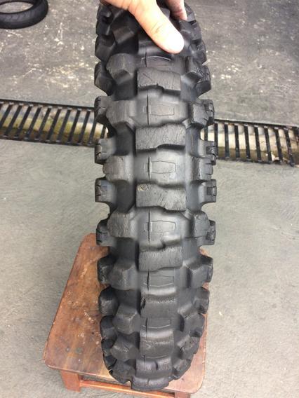 Pneu De Trilha 120/80/19 Dunlop Geomax Usado Bom