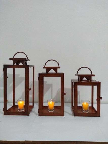 Luminária Marroquina Rústico Lm 04 Kit Com 3,+ Brinde