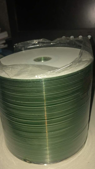 Paquete De 80 Cd Con Capa Blanca Imprimible (300000 Bs)