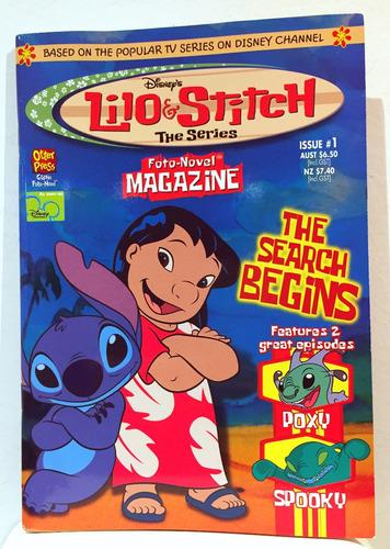 Imagen 1 de 1 de Revista Disney Lilo Y Stitch