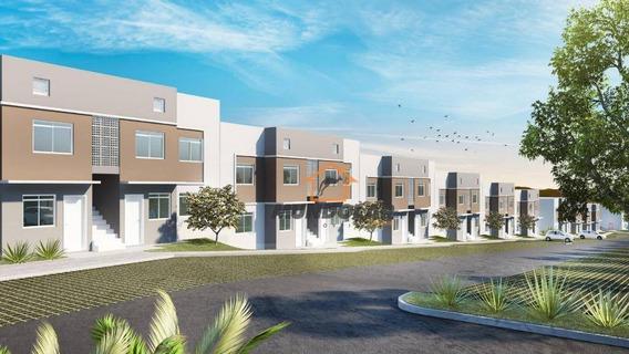 Casa Com 2 Dormitórios À Venda, 42 M² Por R$ 132.000,00 - Costeira - Araucária/pr - Ca1547