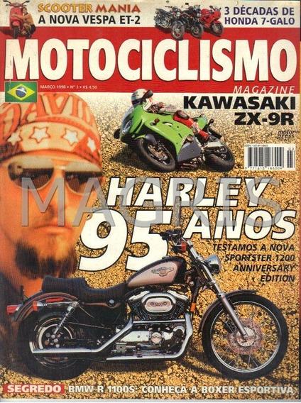 Frete Grátis Motociclismo 3/1998 Zx-9r, Sportster 1200, R 11
