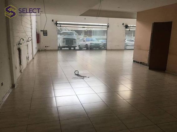 Aluga-se Loja De 236 M², Com Mezanino, Em Frente Ao Shopping São Bernardo Plaza - Lo0011