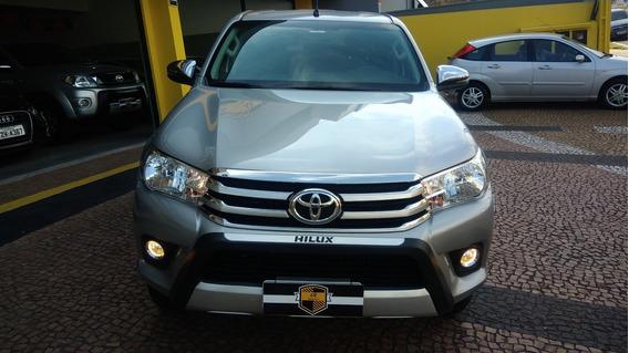 Toyota Hilux 2.8 Srv Dupla 4x4 Diesel Aut. 2018 Unico Dono