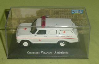 Miniatura Chevrolet Veraneio Ambulância Veículos 1/43