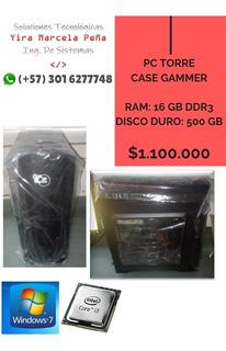 Pc Torre Case Gammer Ip Case C31p-011b