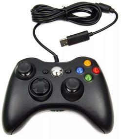 Controle De Xbox 360 C/ Fio Feir - Não Perca