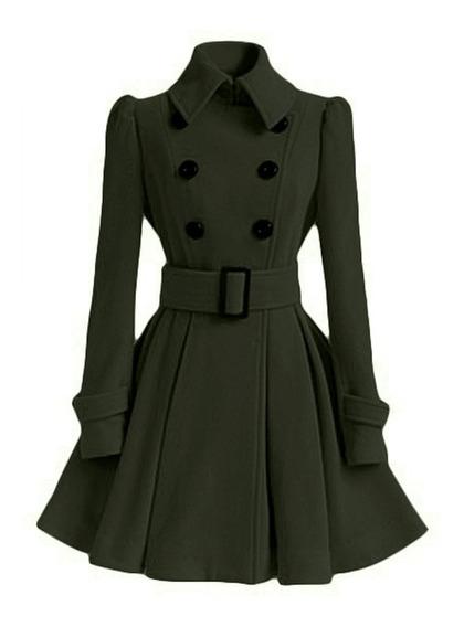 Abrigo De Dama Vintage