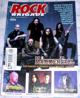 Hammerfall Judas Grave Digger Slipknot Obitua Rock Brigade 9