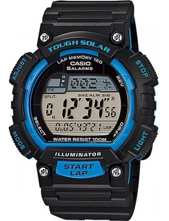 Reloj Hombre Casio Digital Solar 120 Laps X Local + Regalo!!