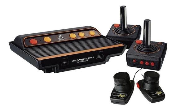Console AtGames Atari Flashback 8 Gold Deluxe preto