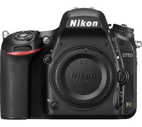 Câmera Nikon D750 Corpo Dslr - Full Frame - 24,3mp