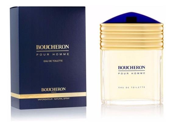 Perfume Boucheron Pour Homme 100 Ml - Lacrado - Selo Adipec