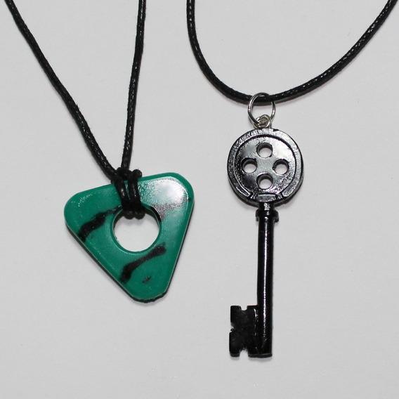 Collar De Coraline, Llave Y Piedra Guia