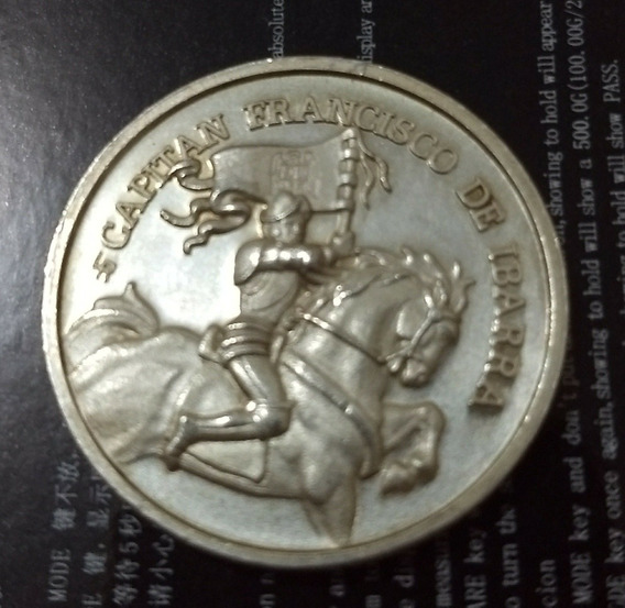 Medalla De Plata Caballo Francisco De Ibarra Villa