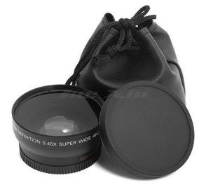 52mm Grande Angular + Macro Nikon Canon Sony Pentax Varias