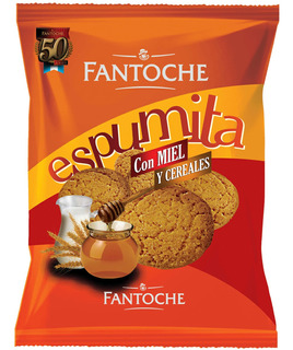 Galletitas Espumita Con Miel Y Cereales 300g Fantoche
