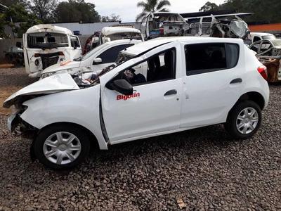 Sucata Renault Sandero 82cvs Flex 2019 Rs Caí Peças