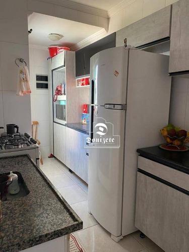 Cobertura À Venda, 95 M² Por R$ 270.000,00 - Cidade São Jorge - Santo André/sp - Co11503