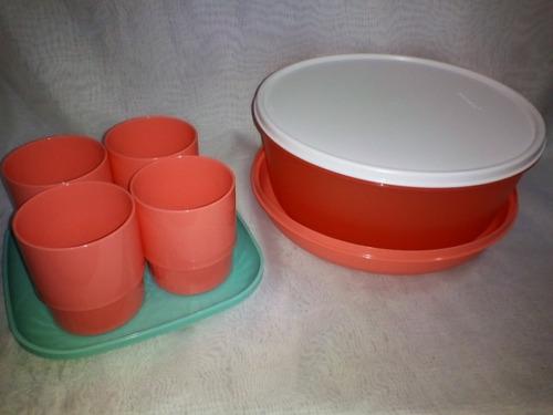 Variedad De Produtos Tupperware Platos, Vasos...