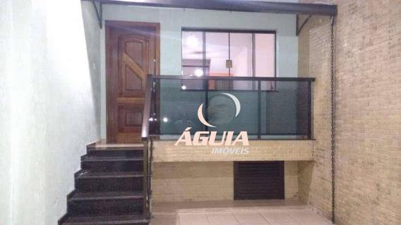 Sobrado Com 4 Dormitórios À Venda, 200 M² Por R$ 675.000,00 - Casa Branca - Santo André/sp - So1301