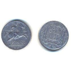 España 1940 Moneda De 10 Centimos De Aluminio