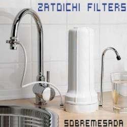Filtro Directo A Su Canilla De Cocina Zatoichi Sobremesada