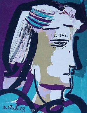 Arte Argentino : Del Prete, Juan - Serigrafías Firmadas 1980