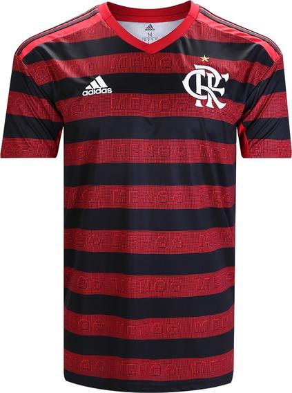 Camisa Oficial Flamengo Titular 2019 Vermelha Promoção