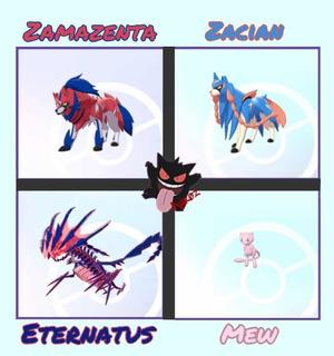 Legendarios 6 Ivs Pokémon Espada Escudo Sword Shield