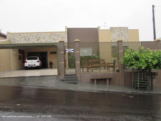Casa Para Venda Em Pirapozinho, Centro, 3 Dormitórios, 1 Suíte - 10171