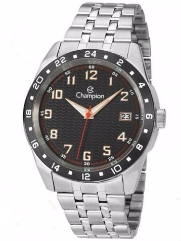 Relógio Masculino Prata Champion Ca31382t Original