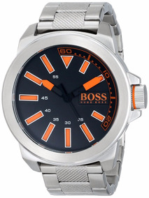 Reloj Hugo Boss 1513006 Plateado Para Caballero Envío Gratis