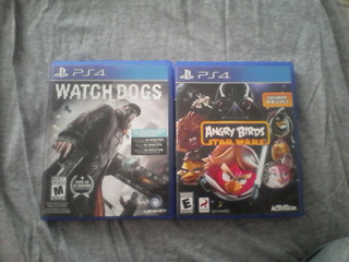 Angry Birds ,watch Dogs De Playstation 4