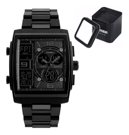 Relógio Masculino Skmei 1274 Original Relógio Homem - Black
