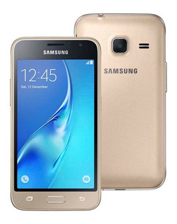 Samsung Galaxy J1 Mini Dourado, Android 5.1 - 3g - 8gb