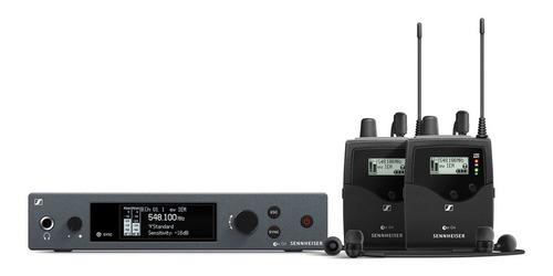 Imagen 1 de 1 de Sistema Inalámbrico Monitoreo In Ear Sennheiser Ew300 2iemg4