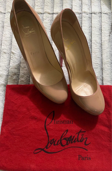 Zapatillas Originales, Louboutin, #5, Beige.