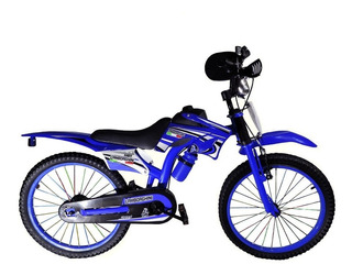 Bicicleta Infantil Moto Cross Rodado 20 Cod7113