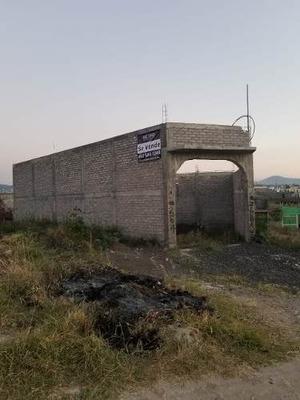 Venta De Terreno Con Casa En Construcción En Morelia, Michoacán