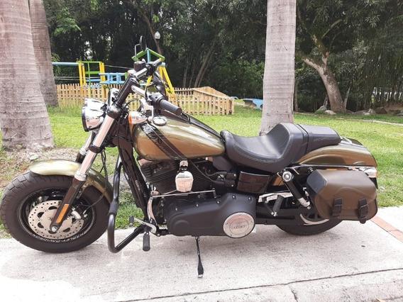 Harley Davidson Fat Bob Excelente Estado . Admirela