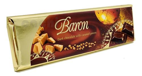 Chocolate Baron Amargo Con Caramelo Dark Caramel 300gr
