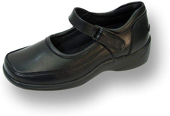 Zapatos Dama Talla 23w Mex/ 6w Anchos 24 Hour Comfort Piel