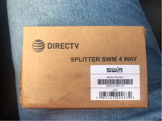 Splitter 4 Vías Direct Tv Marca Swin