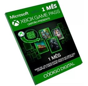 Xbox Game Pass - 1 Mês Código 25 Dígitos Xbox 360 - One