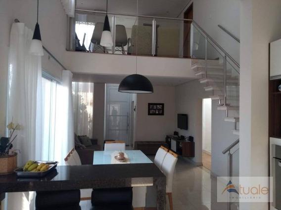 Casa Com 3 Dormitórios À Venda, 157 M² Por R$ 730.000 - Residencial Real Parque Sumaré - Sumaré/sp - Ca6798