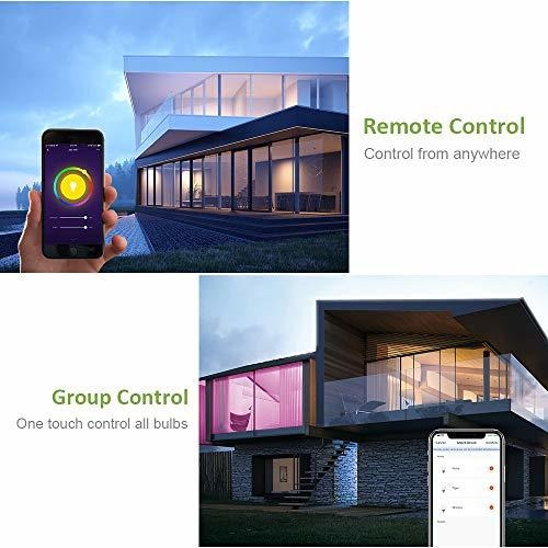 Bombilla Inteligente Wifi Luz Led Rgb Que Cambia Color