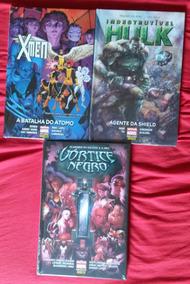 Coleção Hqs Nova Marvel Deluxe Lacrados