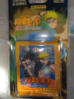 50 Sobres Estampas Panini Naruto Shippuden